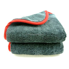 1200gsm Plush Car Buffing Polishing Towel Microfiber Cleaning Cloth