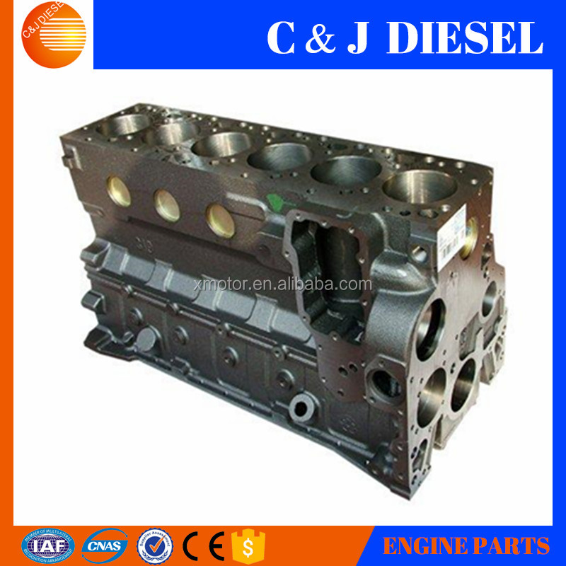 Diesel engine truck parts cylinder block 3905806 for cummins 6BT5.9 engine
