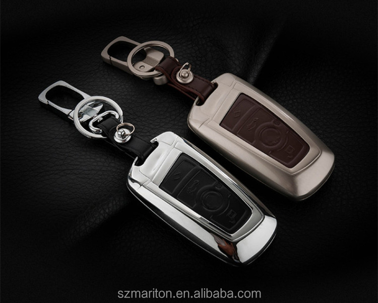 Gift Products Car Smart Remote Key Cover Chain Holder Zinc Alloy Car Styling Key Cover Case For BMW M1 M2 M3 7 Series