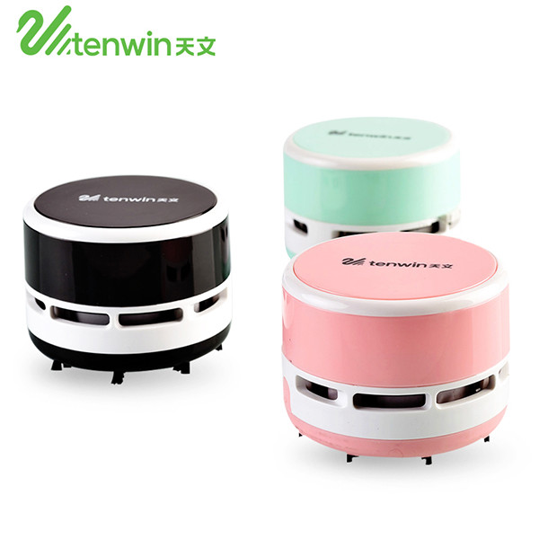 2018 promotional gift office Tenwin 8050 battery style desktop mini vacuum <strong>cleaner</strong>