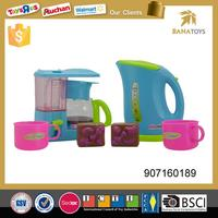 Funny kids kitchen play coffee set