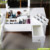 Living room makeup dresser table with mirror