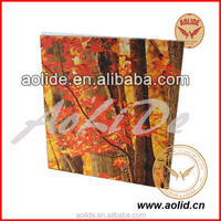 Stretched Canvas Decorative Photo,Customized Photo Oil Painting Canvas in Good Quality
