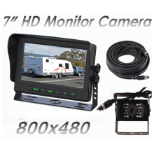 Reversing Camera + 7 inch screen visor 11-32 V