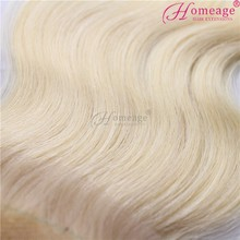 Homeage brazilian invisible part wig remy human hair, brazilian hair blonde, blonde brazilian hair color 27