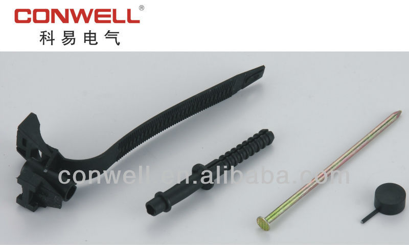 plastic insulation wire cable Fixing Nail