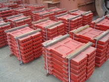 Jaw Crusher Spare Parts liner plate jaw plate