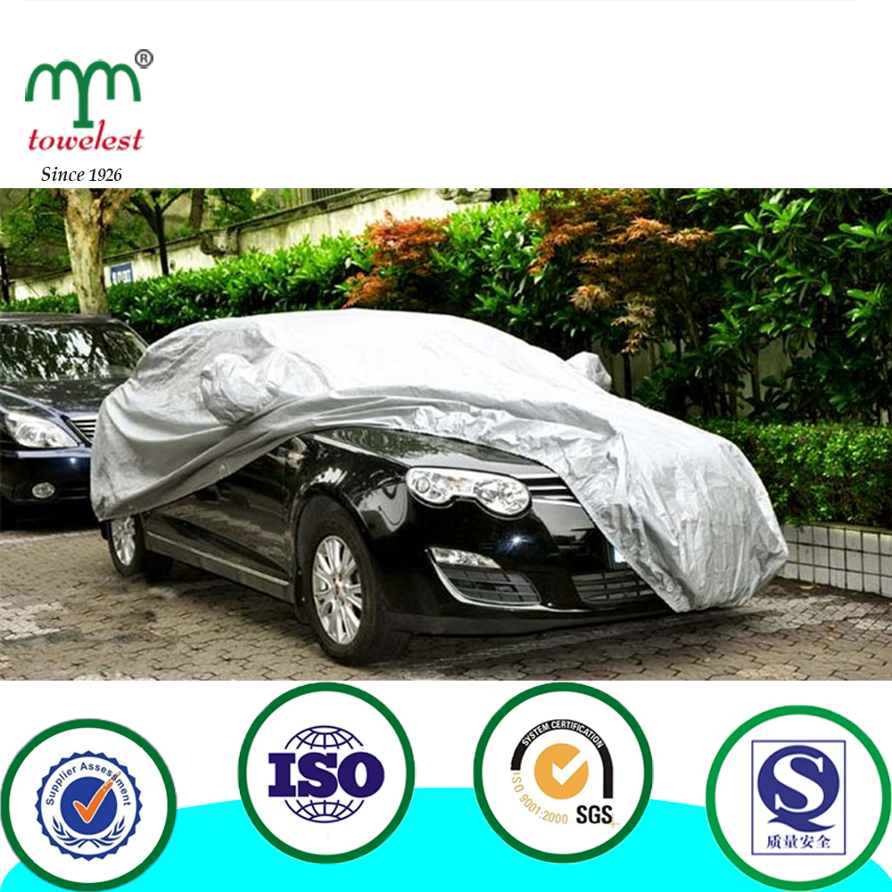 Cheap Universal Sliver Waterproof Nylon Full Car Cover