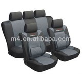 Polyester with 2mm foam universal type car seat cover