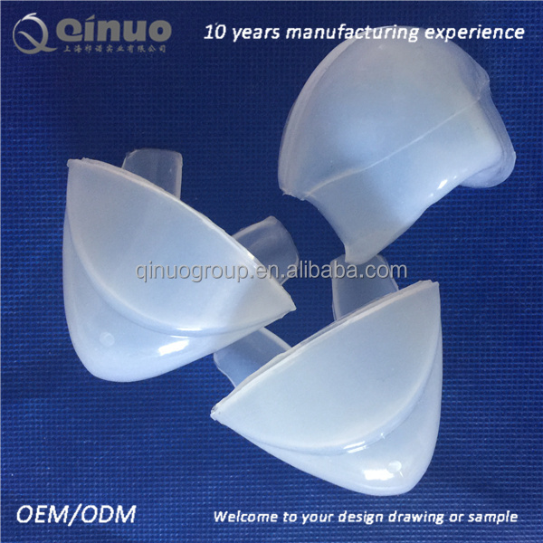 Rubber molded products medical grade silicone breathing mask part
