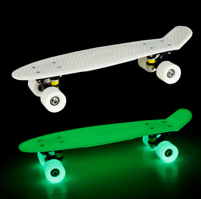 wholesale price high quality motorized black skateboard decks