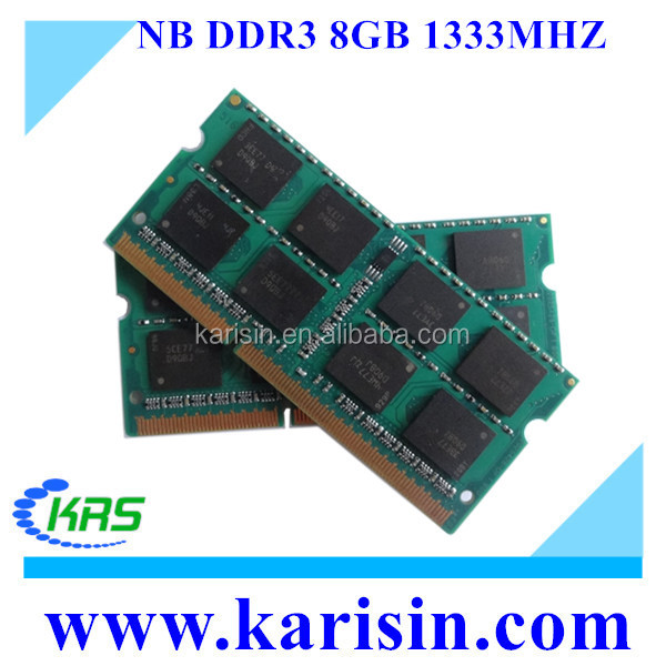 In Stock Laptop /Notebook ddr3 8gb pc3-10600 ram memory