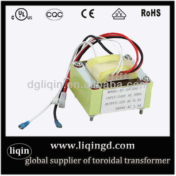 Low frequency ei 33 transformer