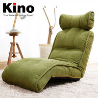 Modern &Multi-function 3D Recliner Sofa China ,High Quality Linen Fabric & Imported Gear Stopper Floor Sofa Chair