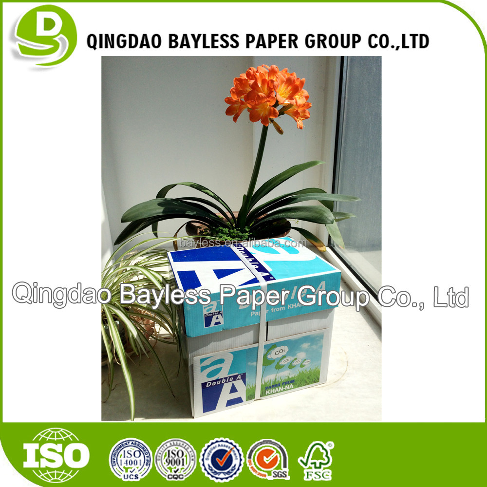Bright and flat photocopier paper cheap paper a4 80 gsm malaysia