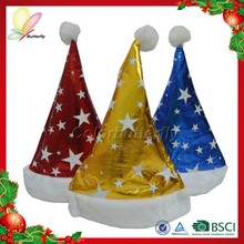 2015 Best Quality Chinese Christmas Tree Hat Luxury Christmas Hat Christmas Hat Decoration