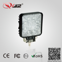 2016 top quality CE Rohs Approved 24w car led working light,waterproof 24w led driving light
