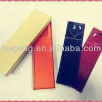 Popular Customized PU Leather Rectangle Personalised