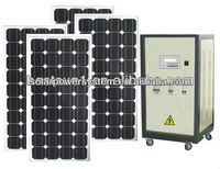 solar central heating system 800w