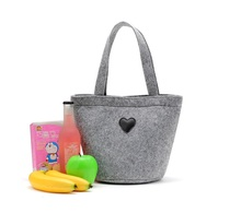 Factory handmade supermarket shopping felt bag handbag
