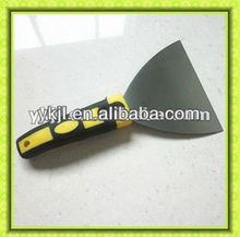 long rubber handle putty knife which building tools