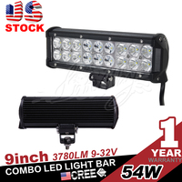 USA STOCK 54w led light bar,led driving light,light bar for ATV/UTV/OFF ROAD CAR/MINING