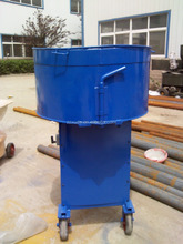 Industrial portable vertical cement mixer