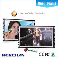 promotional advertising device 10 inch LCD tv with card slot