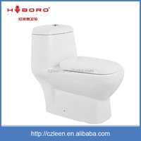 Reliable quality one piece siphonic white high toilets for disabled
