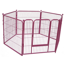 Large outdoor dog kennels designs / iron fence dog kennel / unique cute dog kennel fence panel