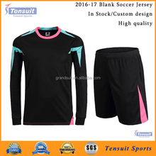 plain soccer jersey suit custom your own blank soccer jersey set wholesale blank no logo sublimated football shirt unifrom 2016