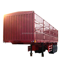 50Tons 3 axle Cargo stake semi trailer with lowest price