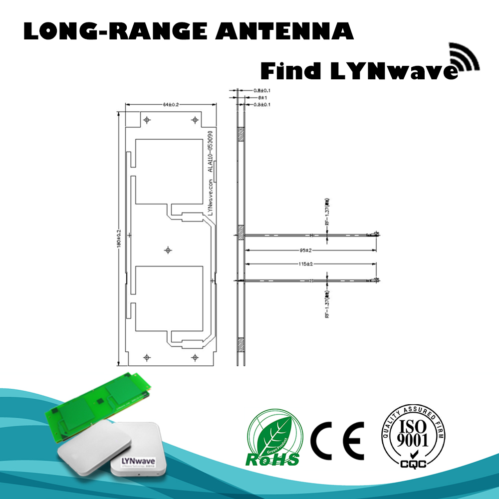 Long Range Tablet Android External WIFI Dual Band Receiver Antenna