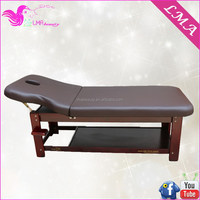 Factory fashionable hot sell beauty wooden massage supplies bed MD41B