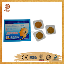 OEM/ODM adult carsick gel plaster/motion sickness patch manufacture