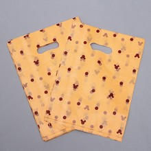plastic shopping carry bag shopping die cut bag handbag
