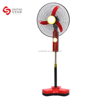 Portable Mini Battery Operated 12v Rechargeable Fan 16 Inch