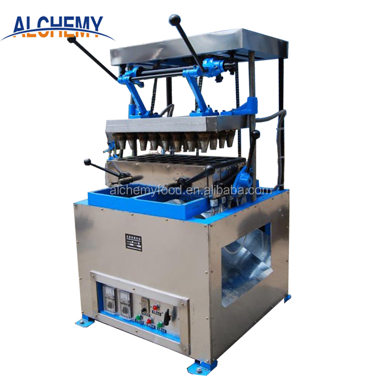 DST commercial ice cream waffle cone machine factory price