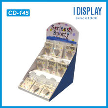 POP cardboard business card display for trade show