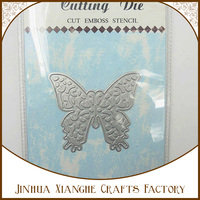 wholesale butterfly metal stencil cutting dies cut emboss stencil