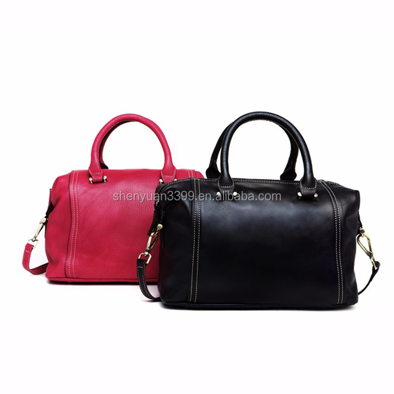 2016 China supplier designer leather handbags for ladies,pu leather hand bags,shoulder long strip bag