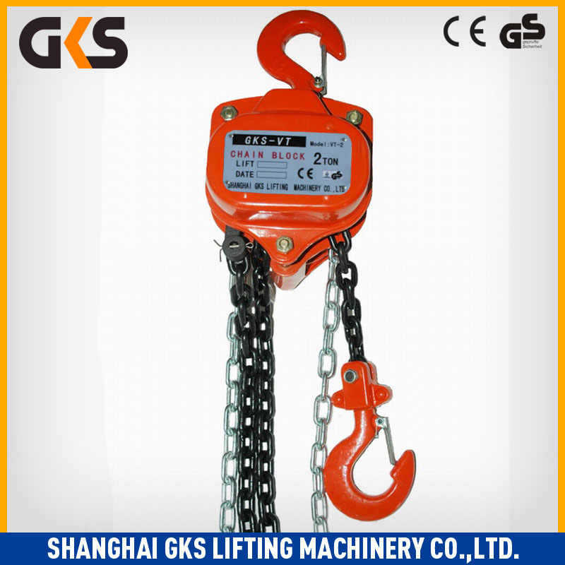 Easy rigging lifter hoist scale vt chain block/manual chain hoist