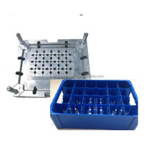 Jaci hot sale oem plastic beer bottle case/crate beer bottle case/crate mould making