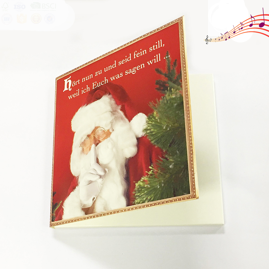 No Charge Design Xmas Recordable Card - Buy Xmas Card,Recordable ...