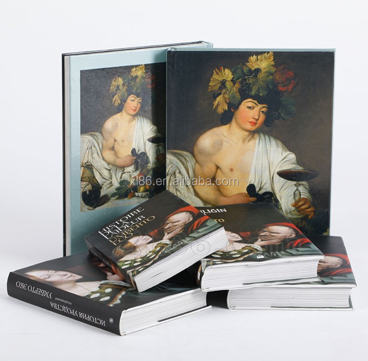 Book printing service / Softcover / photo / hardcover book printing