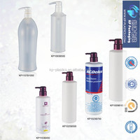 HDPE lotion and shapoo bottle