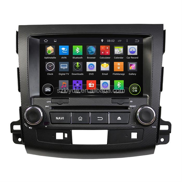 8 inch touch screen car dvd player with reversing camera for mitsubishi outlander