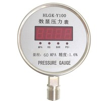 hot sale 2015 100mm stainless steel bourdon tube pressure gauge made in China