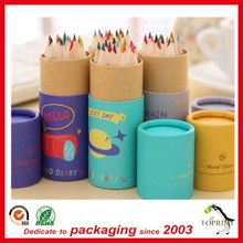 fancy paper pen container cardboard pencil paper box pencil packaging box