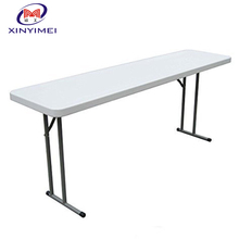 Factory Direct Sale Plastic folding table 8ft